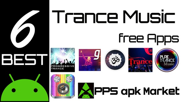 6 Best Trance Music Android Apps for psychedelic exp  in 2018