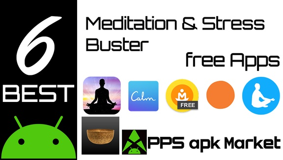 6 Best Meditation and Stress Buster Android Apps for Mind