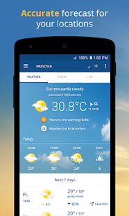 wetter com - Weather and Radar App - Free Offline Download | Android