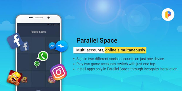Parallel Space Lite-Dual App App - Free Offline Download