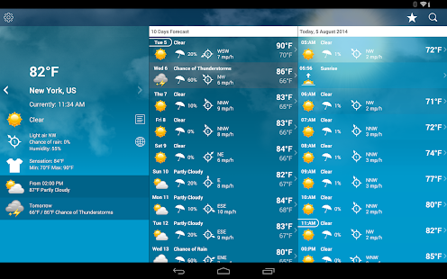 Weather XL PRO App - Free Offline Download | Android APK Market