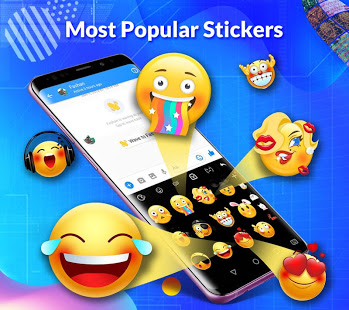 TouchPal Keyboard-Cute Emoji,theme, sticker, GIFs App - Free