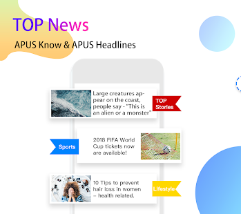 APUS Launcher - Theme, Wallpaper, Hide Apps App - Free