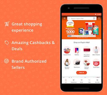 Paytm Mall: Online Shopping App App - Free Offline Download