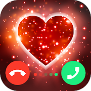 Blue hearts crystal diamonds live wallpaper App - Free Offline