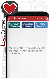 Love Quotes - Deep love quotations and poems App - Free