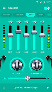 Music Equalizer - Bass Booster & Volume Booster App - Free