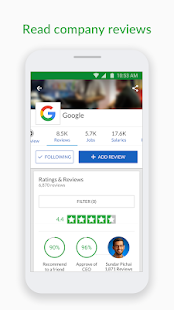 Glassdoor Job Search, Salaries & Reviews App - Free Offline
