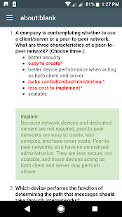 Cisco CCNA Answers App - Free Offline Download | Android APK