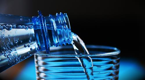 Water for stunning skin & hair holiday season