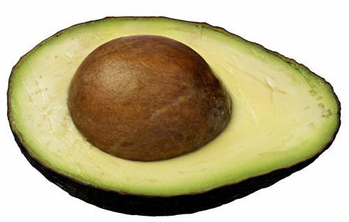 Avocado for glossy hair