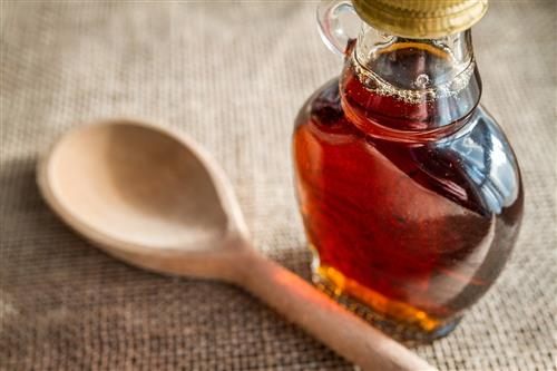Maple syrup for sensitive skin