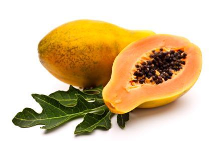 Papaya for glowing skin