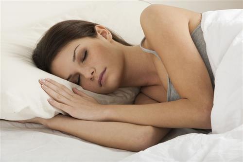 sleeping clear, glowing, youthful skin