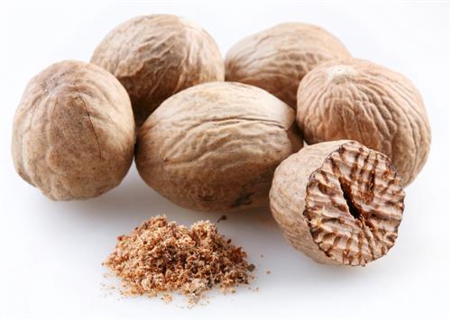 nutmeg for acne