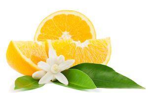 orange for suntan