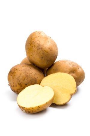 Potato for suntan