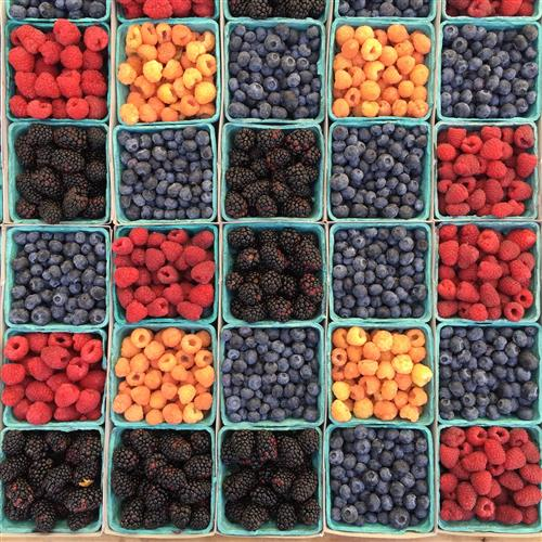 Berries for ageless skin