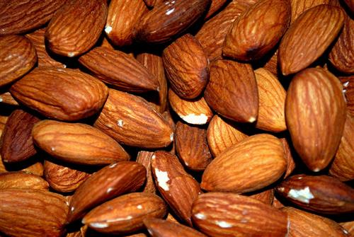 Sweet almond oil for thick & glossy hair