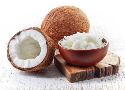 Coconut butter for skin