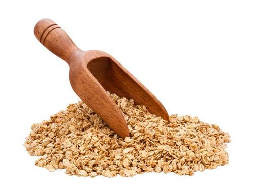 Oat flour for sagging skin