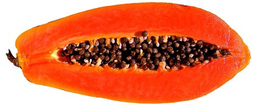 Papaya for old marks and scars