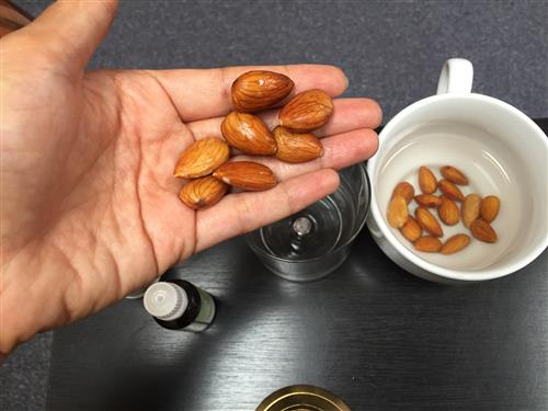 almond milk quarantine skin care