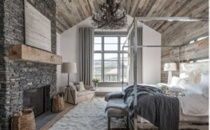 This bedroom has all comfy designs of hygge