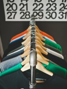 Hanger direction can help you figure out which clothes you wear the most