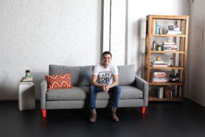 Kyle Schuneman 2BHack Neon Sofa Legs