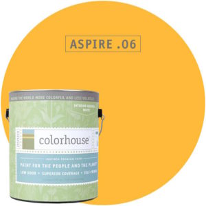 Aspire .06 is the yellow we've chosen for our color combo
