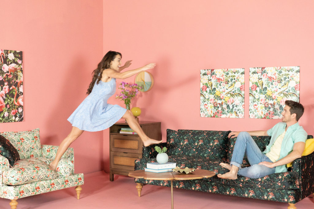 The Apt2B Bloom Collection will have you jumping for joy