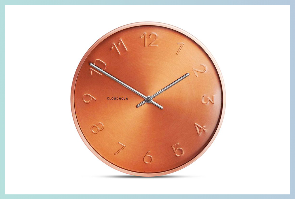 Apt2B Wall Clocks_Copper