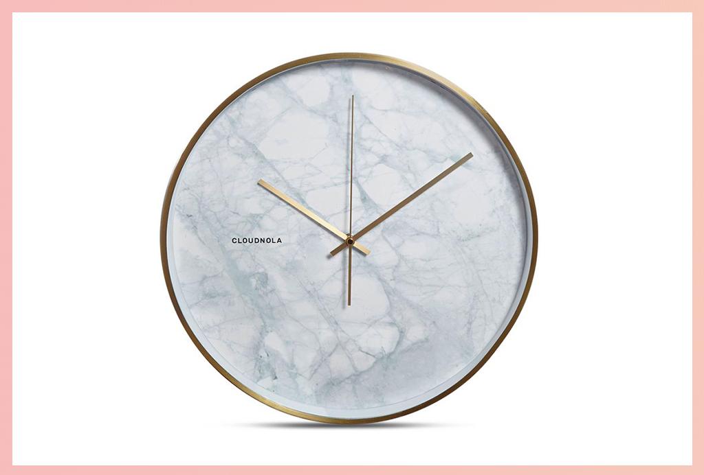 Apt2B Wall Clocks_Marble