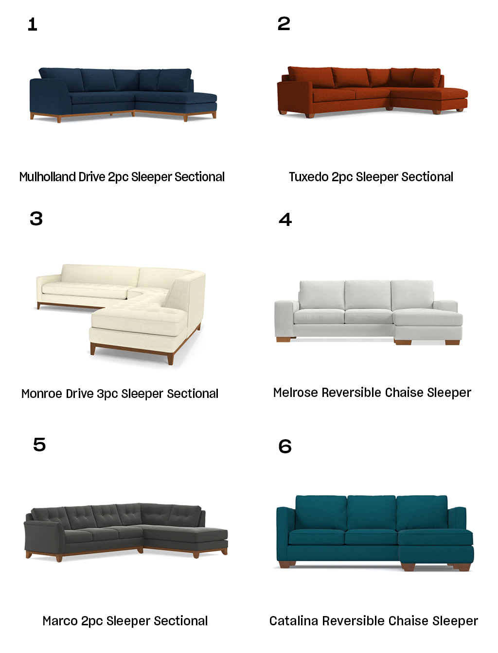 Apt2B Sleeper Sectionals Buying Guide