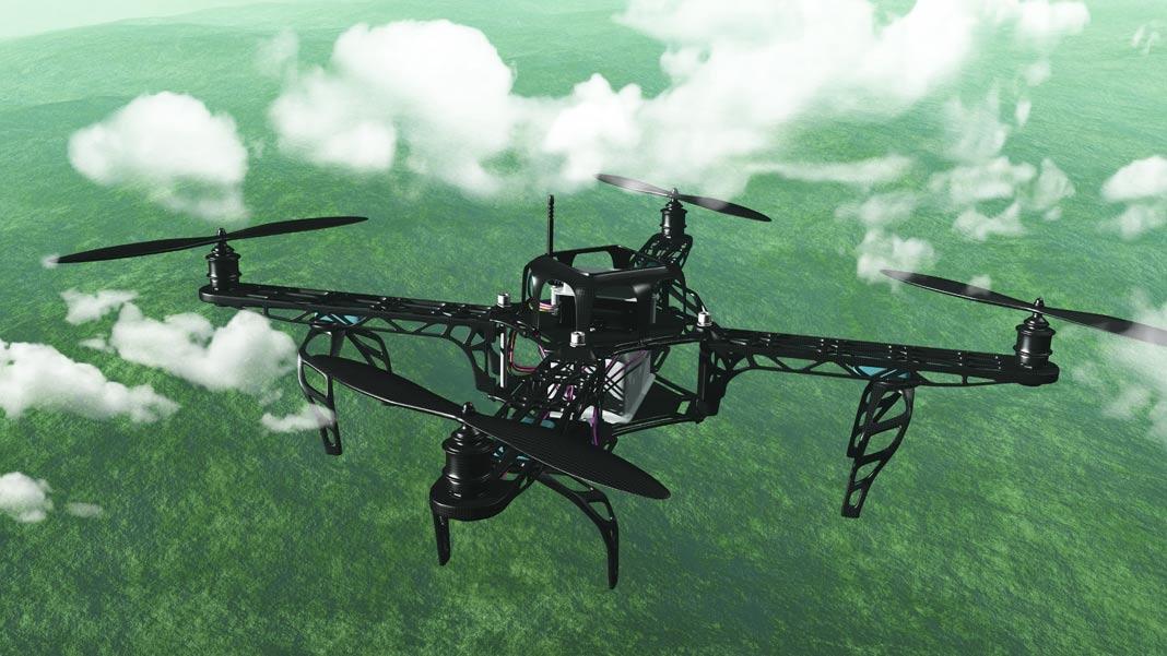 Drones para la seguridad