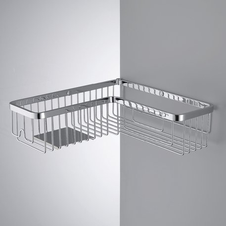 Corner rack for bath or shower 090.B9614.CR