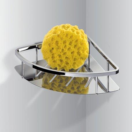Panier d'angle pour douche ou baignoire