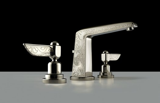 Exclusive 3-hole basin tap