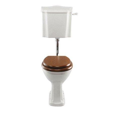 WC rétro Balasani avec réservoir mi-haut