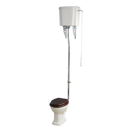 WC Balasani avec réservoir haut pour la salle de bain rétro