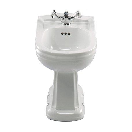 Bidet montage sol pour salle de bains rétro