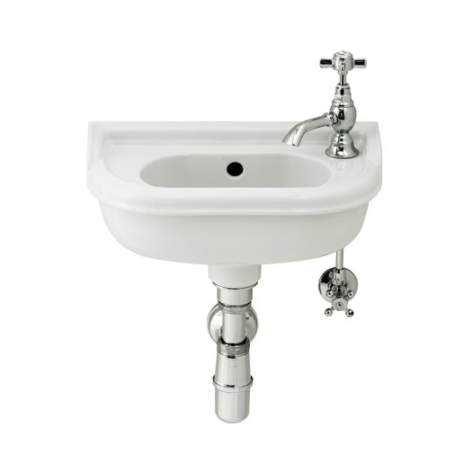 Retro Balasani cloakroom basin for the toilet or guestroom