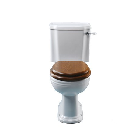 Victorian monobloc toilet for the classic style bathroom