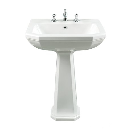 Washbasin 62 cm in Art Nouveau style Empire