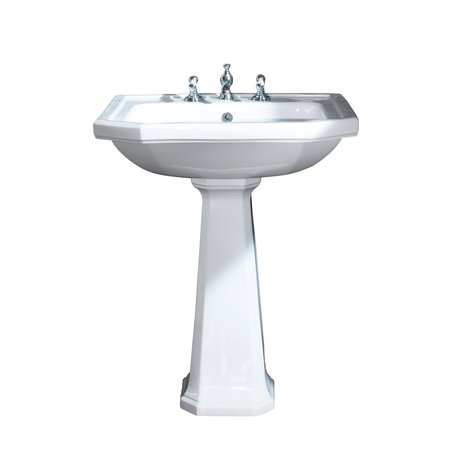 Art Nouveau washbasin of 70 cm wide