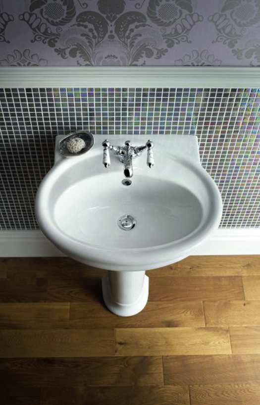 Hillingdon washbasin for the country style bathroom