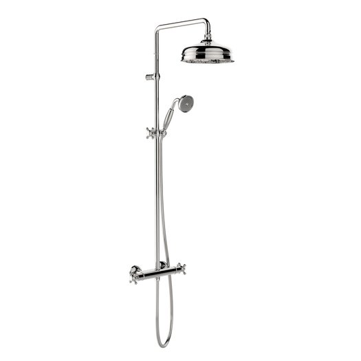 Elegant simple retro shower column