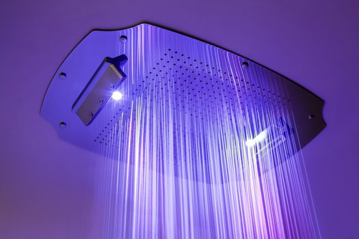 Colonial multifunction build-in shower head 460.23071X with rainshower and waterfall