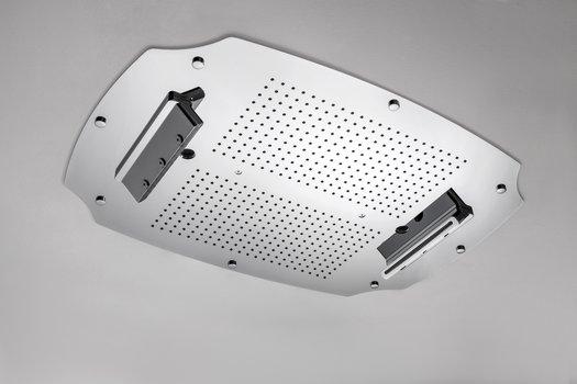 Multifunction build-in shower head